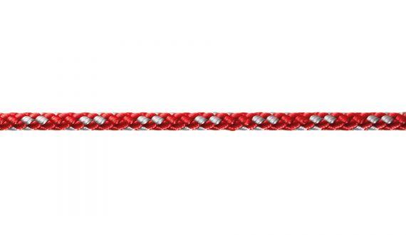 8-Plaited Dinghy rouge-argent - Robline