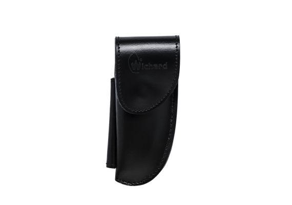 Black leather sheath - Wichard